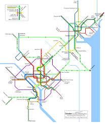 Greater Baltimore & Washington Transit Future pocket version