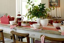 christmas table decorating ideas christmas dining room country