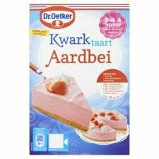 dr oetker kwarktaart aardbei strawberry cheesecake baking mix 420g ebay