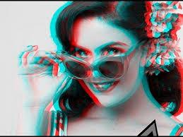 Make a 3D image in shop