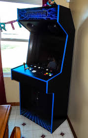 4 Player Arcade Cabinet Dimensions by Tredog U0027s First Full Height Slim Cabinet Cabinets And Projects