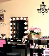 Bedroom Vanity With Lighted Mirror Beautiful Light Urevoo