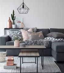 canapé gris foncé déco salon quelle peinture choisir pour salon mur grise
