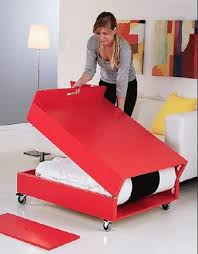Gorgeous Folding Guest Bed IKEA with Convertible Coffee Table And