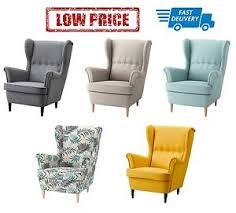 ikea strandmon wing chair in 5 colours ebay
