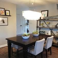 Dining Room Lighting Medium Size Minimalist Modern White Marble Floor Bright
