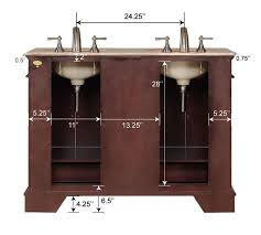 48 Inch Double Sink Vanity White by 48inch Erika Vanity Space Saving Vanity Double Sink Vanity