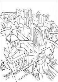 Gotham City Batman Coloring Pages