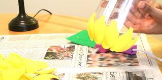 VIEW IN GALLERY Diy Pineapple Lamp Tutorial Simple DIY Lampshade Made From Spoons