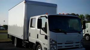 Production Truck Movie Truck Isuzu Crew Cab Box Van - YouTube