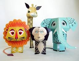 On One Occasion We Found These Really Cute Animal Paper Craft S If 3xSFS5Ri