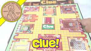 The Game Of Clue Family Board 1986 Parker Brothers