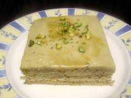 Baklava Opera Cake