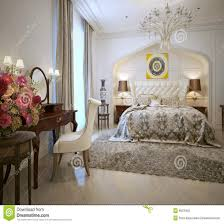 style chambre coucher la confortable chambre a coucher agendart ivoire