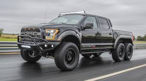 100 6x6 Truck Conversion Hennessey Has Built A 600bhp Sixwheeled Raptor Top Gear