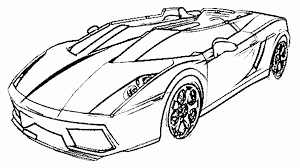 Free Printable Colouring Pictures Sports Cars