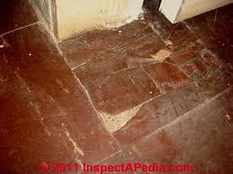 asbestos flooring hazard levels
