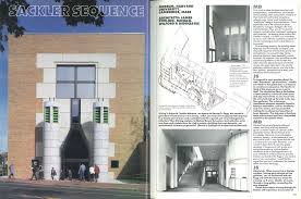 100 Architects Stirling 1986 July Sackler Sequence An Interview With James