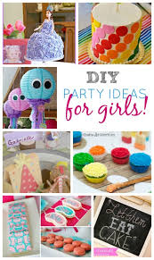 Decoration Ideas For Birthday Party At Home Elegant Diy Decorations Girl 50 Sweet Girls
