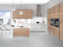 cuisine blanche et beautiful salon blanc et bois clair pictures amazing house design