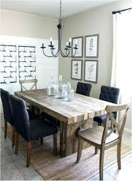 Amazing Modern Farmhouse Dining Room Tables Concept Inspiring Composition Brilliant Furniture For Sale