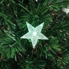 Northlight NorthLight 3 Pre Lit LED Color Changing Fiber Optic Christmas Tree With Star