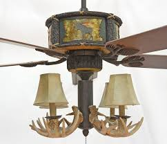 vintage small antler ceiling fan ideas modern ceiling design