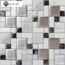 Brown Mosaic Bathroom Mirror by 20 Best Metal Glass Tiles Images On Pinterest Glass Tiles