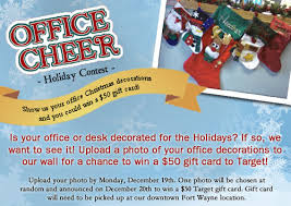 Christmas Cubicle Decorating Contest Flyer by Workspace Solutions Archives Page 3 Of 4 Workspace