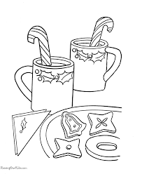 Free Printable Christmas Coloring Pages Of Candy Canes