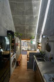 104 Japanese Tiny House Takeshi Hosaka Designs In Tokyo With Funnel Like Roofs