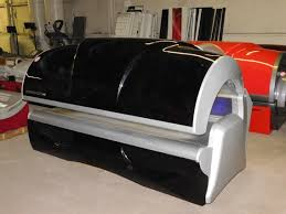 Velocity Tanning Bed by Ended Absolute Auction Of Former Palm Beach Tan Equipment