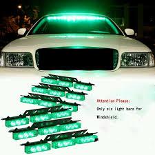 100 Strobe Light For Trucks Green Warning LED Emergency Work Vehicle Deck Dash