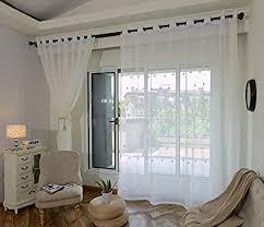 de bb er bestickte gardinen weiß erker wohnzimmer