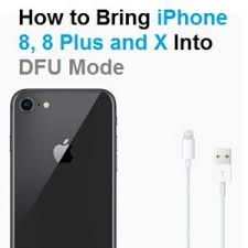 How To Enter And Exit DFU Mode iPhone 8 8 Plus and X