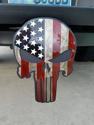 Large American Flag Punisher Tow Hitch Cover – Seaside Metal Design Amazoncom Reese Tpower 86531 Black Finish Lighted Hitch Cover Covers Accsories Chevy Chevrolet Avalanche Truck Lets See Your Toyota 4runner Forum Largest Ami Chrome Punisher Hitch Covers On Sale Now Freeman Steel Designs 5th Special Forces Patriot Mdalorian War Banner 2 Inch Trailer For Car Custom Beautiful Punisher Skull Acrylic Superman Cover002225 The Home Depot Tow Ford F150 Light Stunning Brake Oval Gmc Receiver With