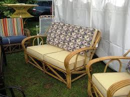 Image Of Rustic Vintage Wicker Chair