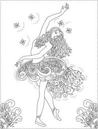 Disney Princess Coloring Pages On Ballerina