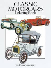 Classic Motorcars Coloring Book