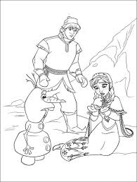 Printable Frozen Coloring Pages