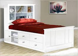 White Storage Bed Twin — Modern Storage Twin Bed Design Storage