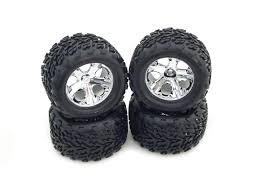 100 Best Tires For Trucks Amazoncom TRAXXAS 110 STAMPEDE 2WD SET OF 4 TIRES AND WHEELS
