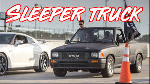 Sleeper Toyota Pickup Truck SURPRISES EVERYONE! McLaren 720s - GTR ...