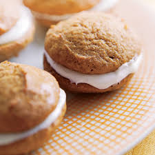 Pumpkin Whoopie Pies With Maple Spice Filling by Pumpkin Whoopie Pies Rachael Ray Every Day