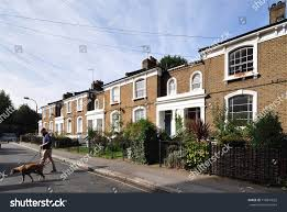100 Victorian Period Homes LONDON SEPTEMBER 14 2017 Terrace Typical Stock Photo Edit Now