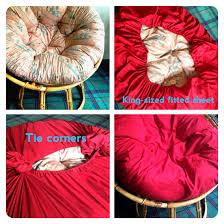 Oversized Papasan Chair Cushion by So Much Cuter Than A Plain Cushion For The Home Pinterest