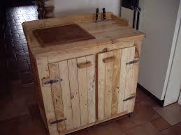 billot de boucher sur meuble maison kitchen