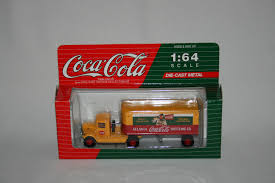 1993 Coca Cola 1/64 Scale Yellow Mack Truck With Tractor Trailer ... 164 Diecast Toy Cars Tomica Isuzu Elf Cacola Truck Diecast Hunter Regular Cocacola Trucks Richard Opfer Auctioneering Inc Schmidt Collection Of Cacola Coca Cola Delivery Trucks Collection Xdersbrian Vintage Lego Ideas Product Shop A Metalcraft Toy Delivery Truck With Every Bottle Lledo Coke Soda Pop Beverage Packard Van Original Budgie Toys Crate Of Coca Cola Wanted 1947 Store 1998 Holiday Caravan Semi Mint In Box Limited