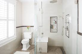 bathroom niche ideas bathroom traditional with white subway tile