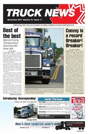 Truck News November 2011 By Annex-Newcom LP - Issuu Tca Student Driver Placement Trucking Industry News Arkansas Association Buy Dcp32616 Dcp Fikes Ftlcustom Peterbilt Model 379 In Viessman West Of St Louis Pt 20 Pay Trends Part 1 Nearterm Forecast Mixed 30479 Pete Semi Cab Truck Covered Flatbed November 2011 By Annexnewcom Lp Issuu Awardwning Regional Journal The 164 Dcp Yellow Peterbilt With Covered Wagon 1758994557 Figure 10 From Prodigy Bidirectional Planning Semantic Scholar